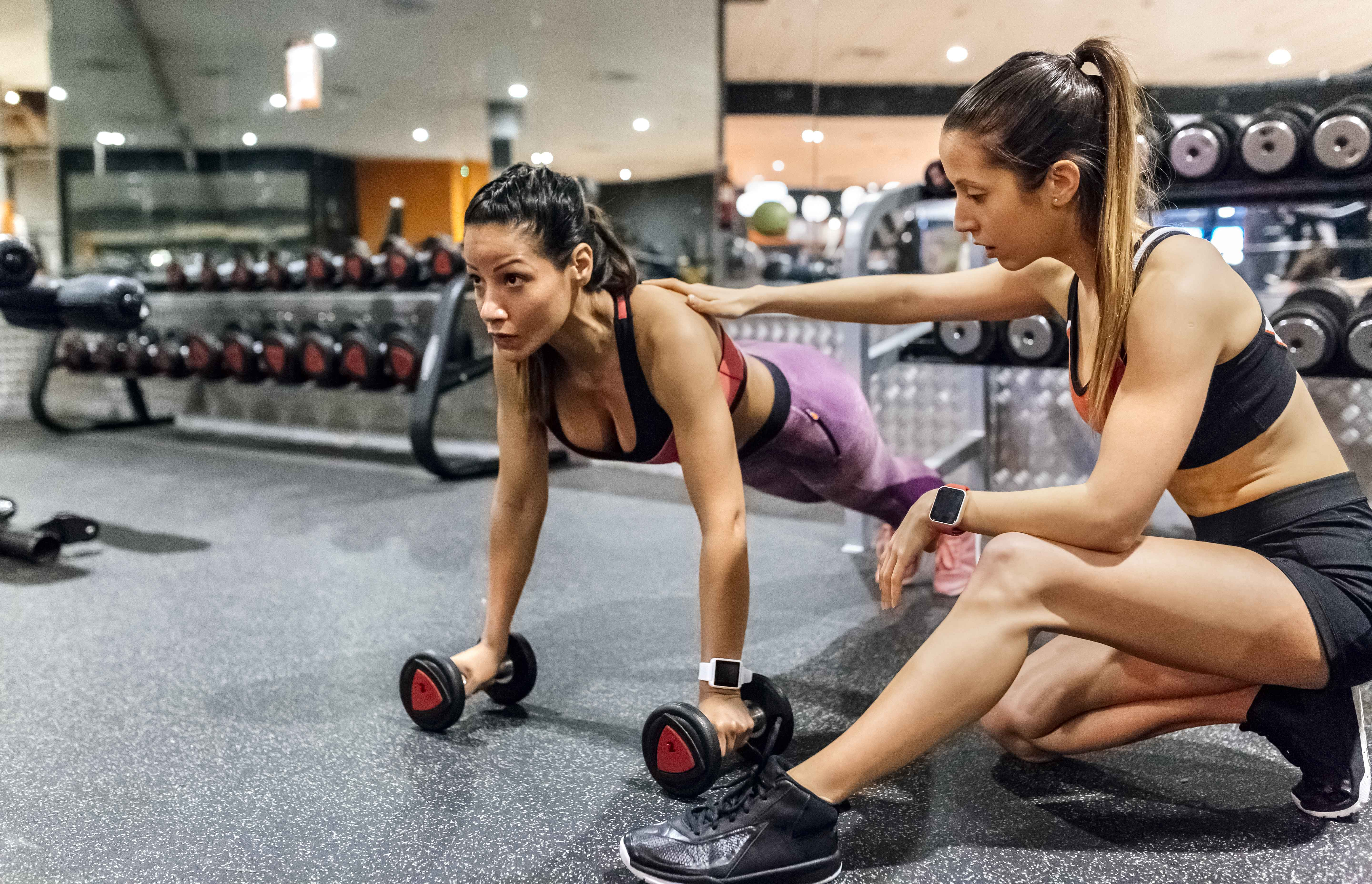 Beginner Gym Workout Routines for Women | 2bstronger com