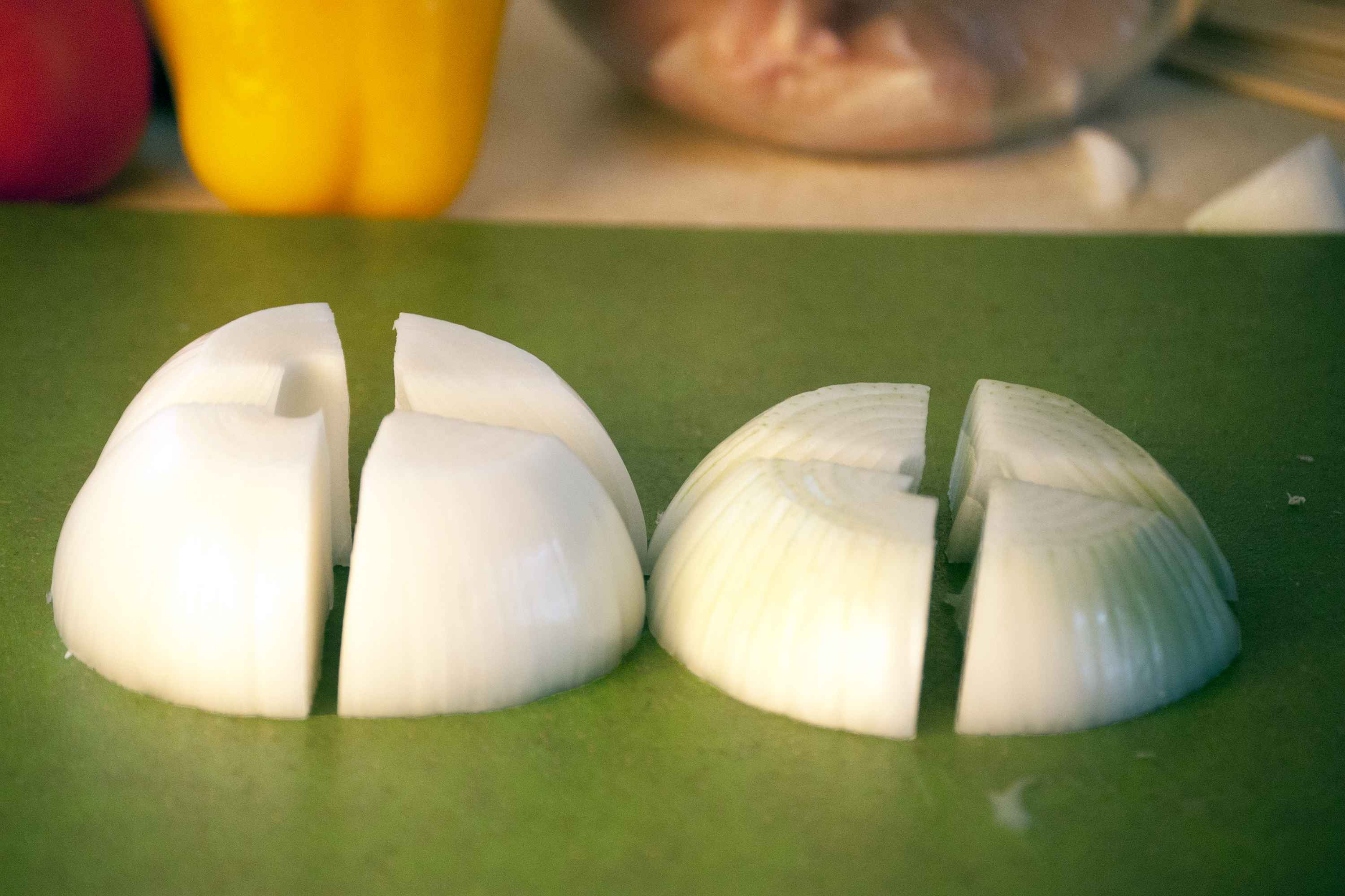 How to Cut an Onion for Shish Kabobs   25bstronger.com