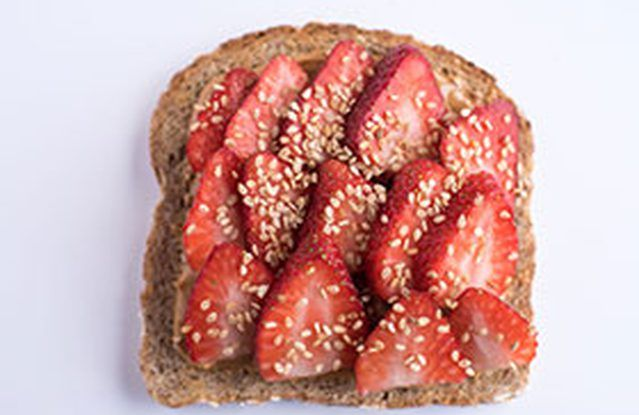 The Berry Sesame Toast
