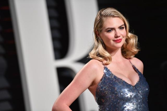 Kate Upton on the red carpet