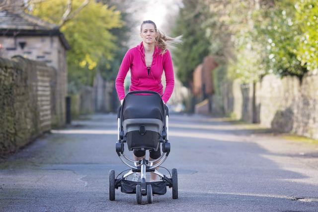 How to Jog After a C-Section