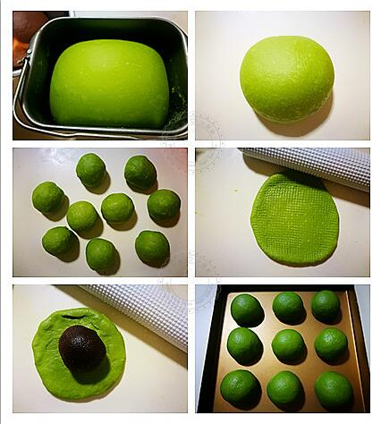 How to bake a matcha bread?