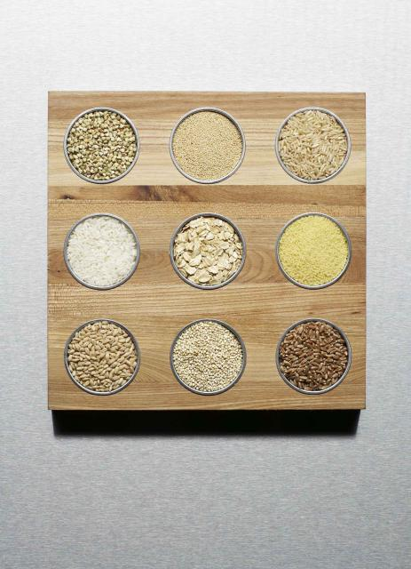 different grains