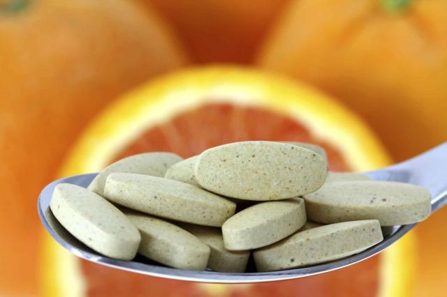 Tablets of Vitamin C