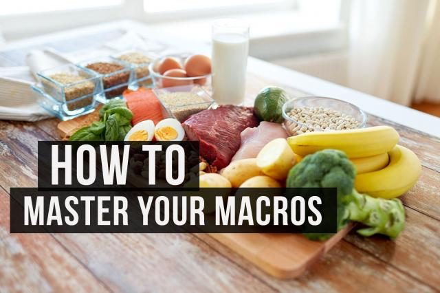 Tracking your macros doesn't have to be complicated. (No, seriously).