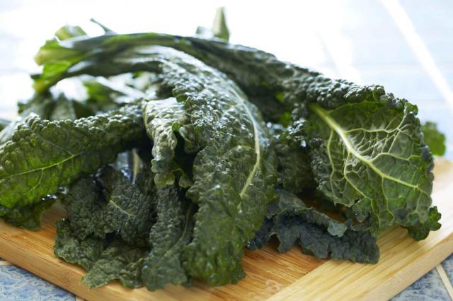Fresh kale salad