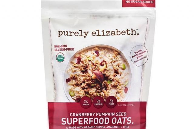 Purely Elizabeth Cranberry Pumpkin Seed Superfood Oats