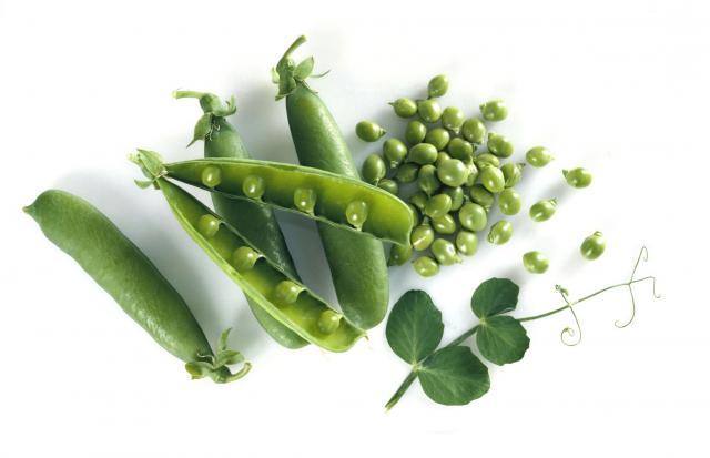 Fresh English peas