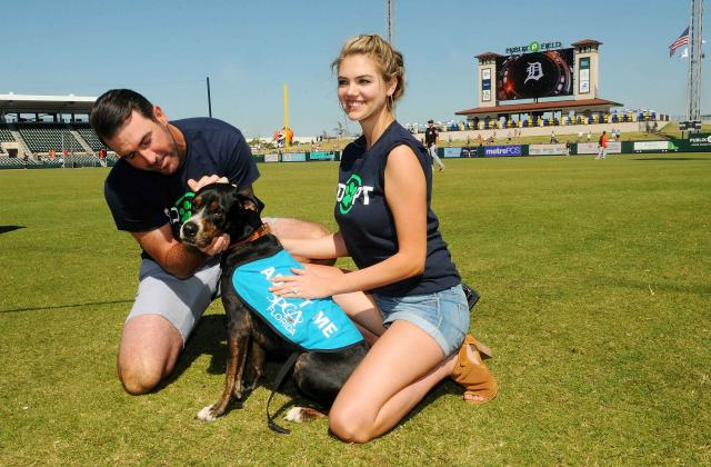 Kate Upton And Justin Verlander Host Grand Slam Adoption Event Presented by Link AKC