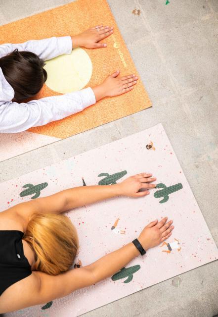society6 yoga mats