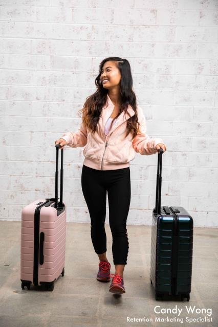 lorna jane outfit and away suitcases