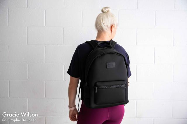 dagne dover black backpack