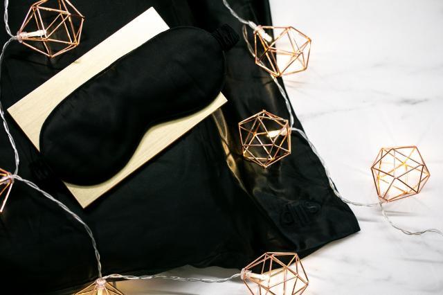slip silk pillowcase and sleep mask