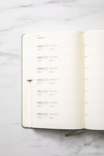 moleskine wellness journal