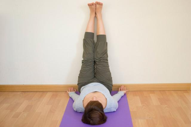 8. Legs-Up-the-Wall Pose (Viparita Karani)