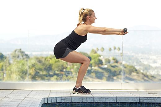 Working out with kettlebells