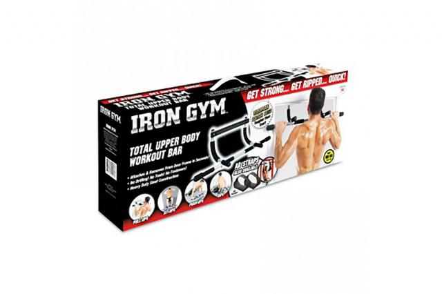 19. Iron Gym Total Upper Body Workout Bar