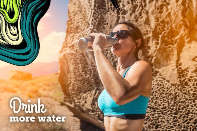 6. Drink More Water