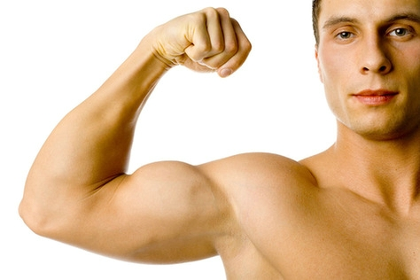 4 strokes making your armrm lines look better by strengthen your biceps