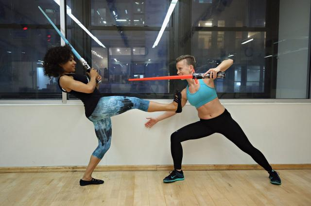 4. The Star Wars Workout