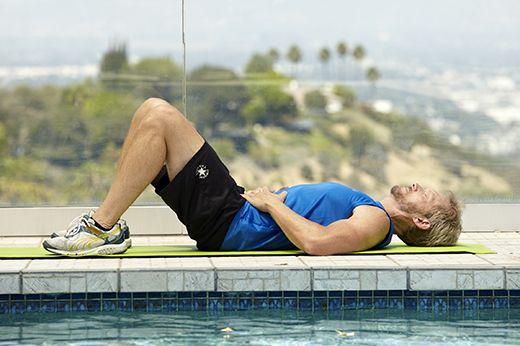 Man doing kegel exercise for better sex