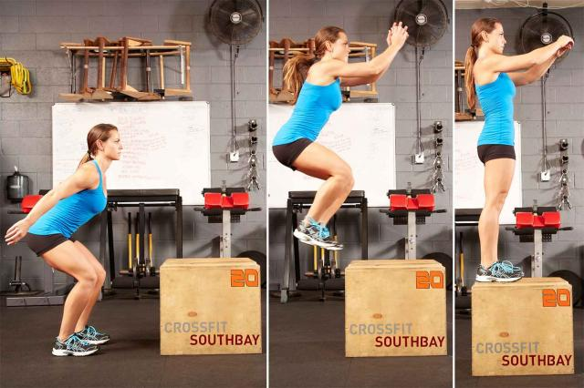 15. Box Jumps