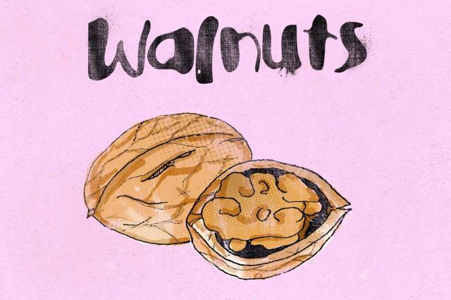 8. Walnuts