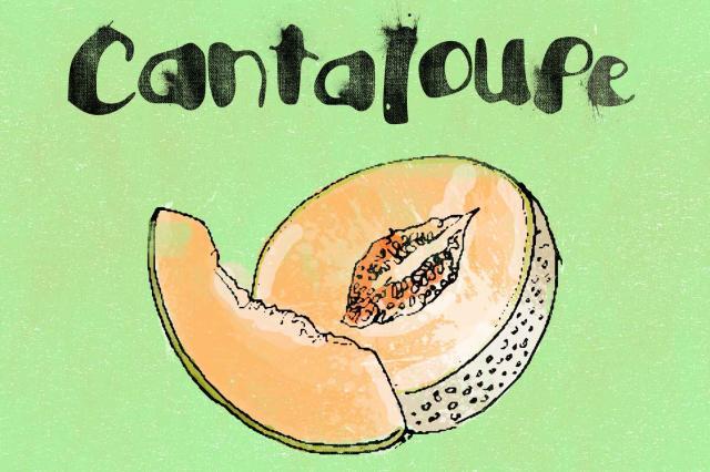 14. Cantaloupe