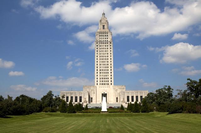 1. Baton Rouge, Louisiana – 44.7