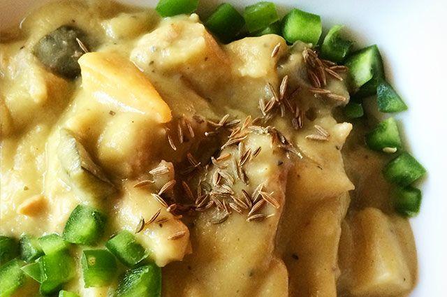 1. Paleo Creamy Chicken Chili Verde
