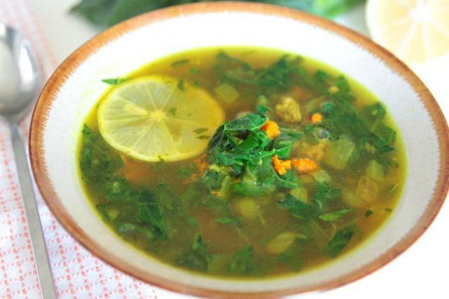 Lamb Turmeric Soup