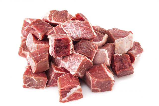Beef Stew Meat Raw