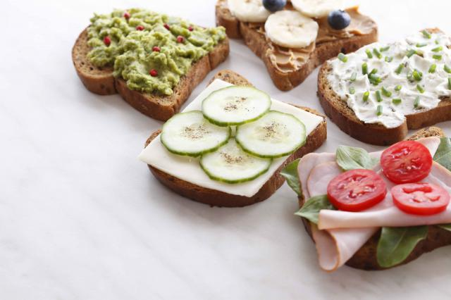 Healthy lunch meat sandwich Variations