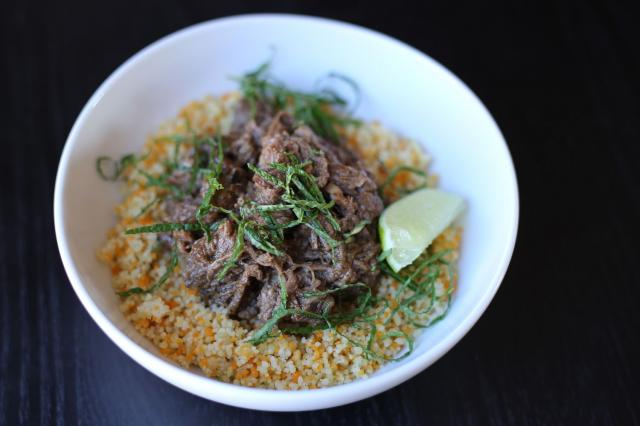 Lime and Mint Shredded Instant Pot Lamb