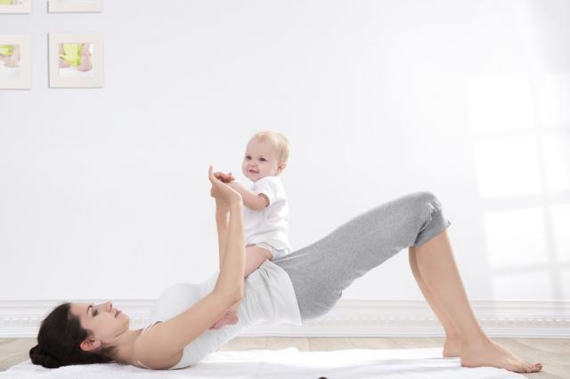 mother and baby gymnastics