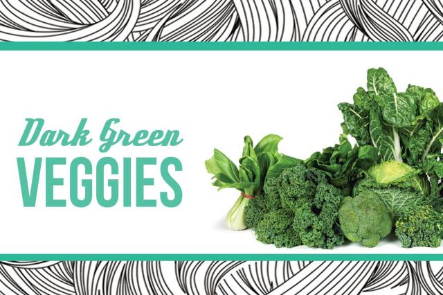 3. Dark Green Vegetables