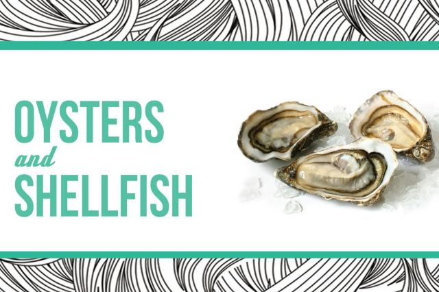 8. Oysters and Shellfish