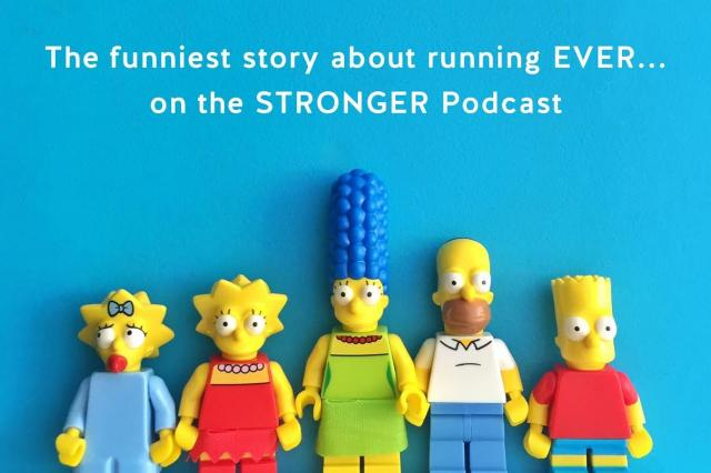 The Simpsons writer on the Stronger Podcast