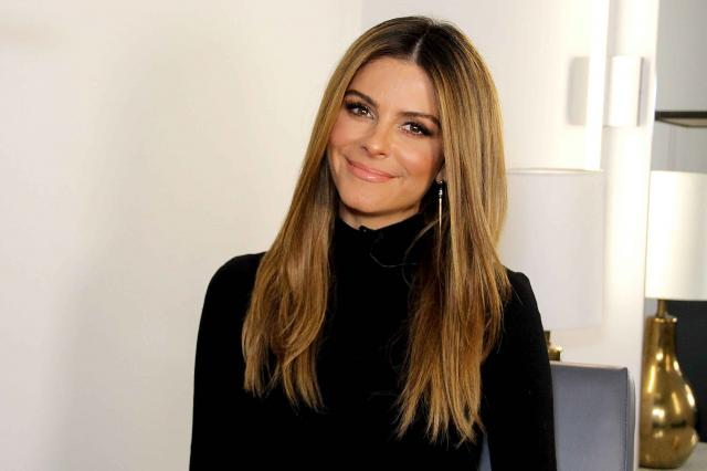 Maria Menounos in her Access Hollywood dressing room at Universal City in December 2017